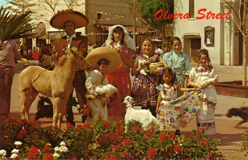 Olvera Street Festive People