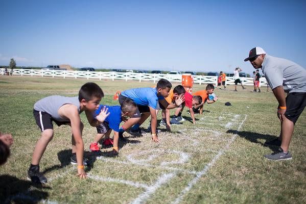 Wasco Bengals Football Camp