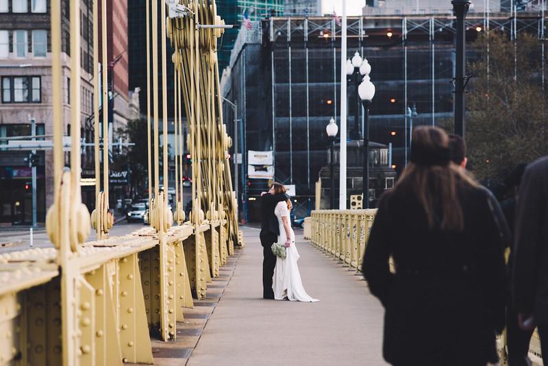Pittsburgh Elopement Photographer - Monaco Bridge Downtown - Hadley-195.jpg