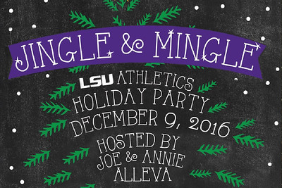 LSU Athletics Holiday Party 12/9/16