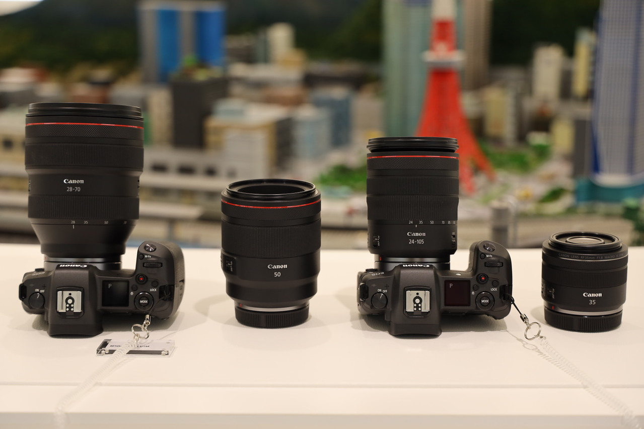 Canon EOS R and RF lenses