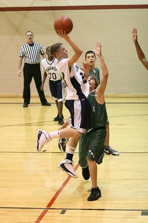 Howard MS Basketball - 2007-08