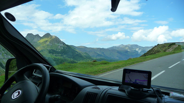 Over Col D'Aubisque to Arrens Marsous (64) - Pyrenees
