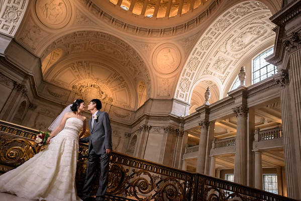 Phoebe and Daniel (Elopement Photography) @ San Francisco City Hall