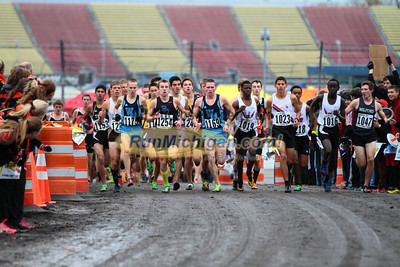800 Meters, D1 Boys - 2013 MHSAA LP XC Finals