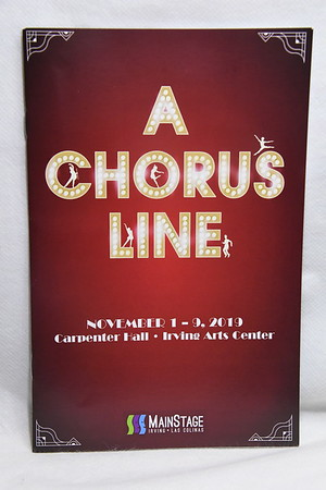 11-1-2019 A Chorus Line Opening @ MainStage Irving Las Colinas