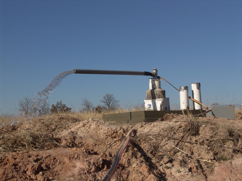 Ranch water well;