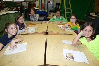 Tamaqua Brownies, Girl Scouts, Screen Printing, TAHS, Tamaqua (3-21-2012)
