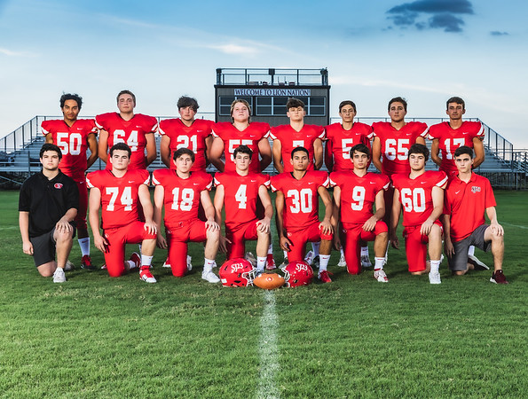St. John XXIII Senior Footbal Photographs