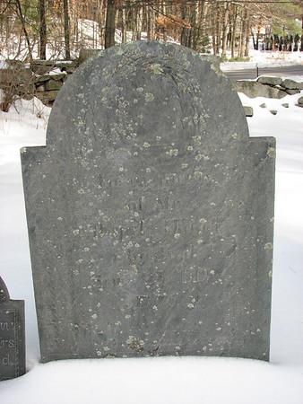 Abijah Wood Grave