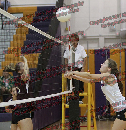 AHS Girls Volleyball vs Gloversville 10-3-2011