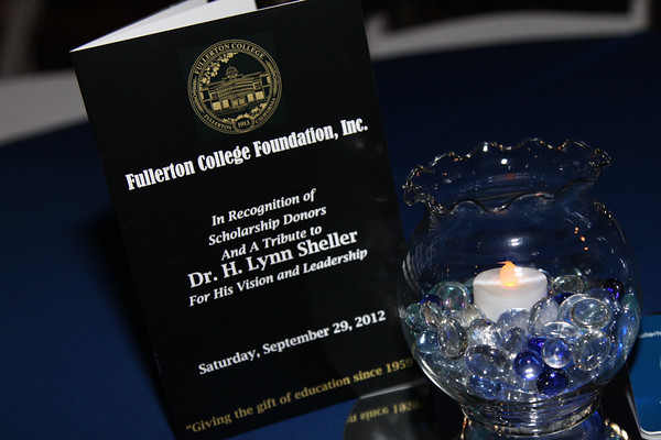 Fullerton College Foundation Donor Wall Event 2012