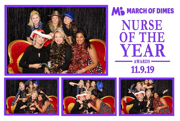 "March Of Dimes ""Nurse Of The Year"""