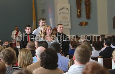 Confirmation Mass at St. Aloysius - October 15, 2011