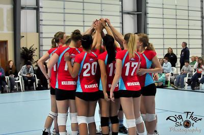 Sound Premier Volleyball Team vs Team Evergreen - 4/13/2013