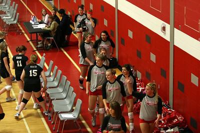 Girls Varsity Volleyball - 10/20/2009 Newaygo (Seniors Night)
