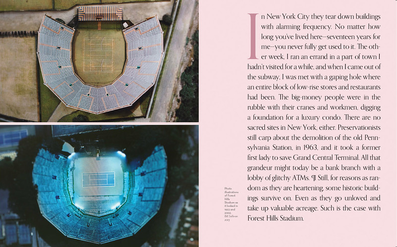 racquet magazine profile on forest hills stadium