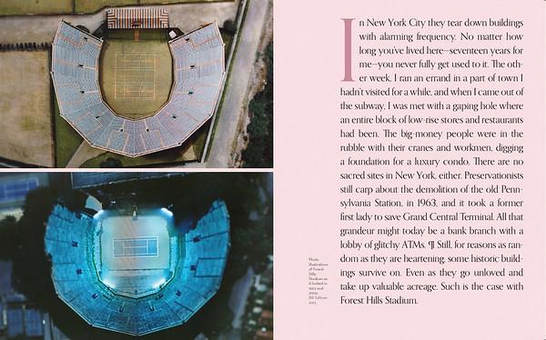 racquet magazine profile on forest hills stadium