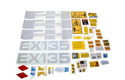 HITACHI EX 135 SERIES DECAL SET