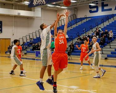 Boys Frosh Basketball vs South Lakes 2/10/17