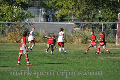 Soccer Girls JV Springville vs SFHS 2010