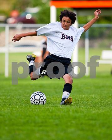 Brighton High School JV Soccer vs. Milford 10-1-09