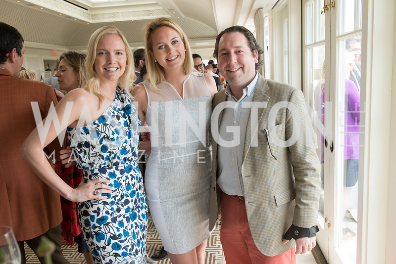 Kaitlin Kirshner, Banning Kuebler, Matthew Ballard,  WHCD Weekend, Thomson Reuters Brunch, Hay Adams, Apri 29, 2018. Photo by Ben Droz.