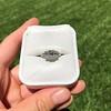 1.15ctw Emerald Cut Diamond Trilogy Ring 18