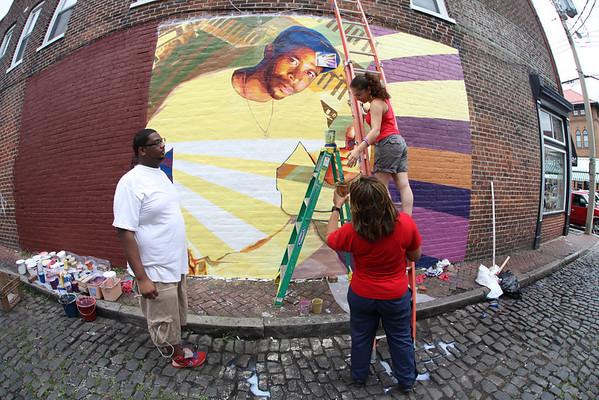 2013 08 11 - Kleph Mural