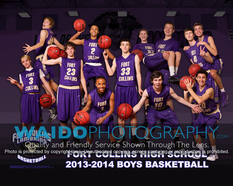 2013-2014 FCHS Boys Basketball
