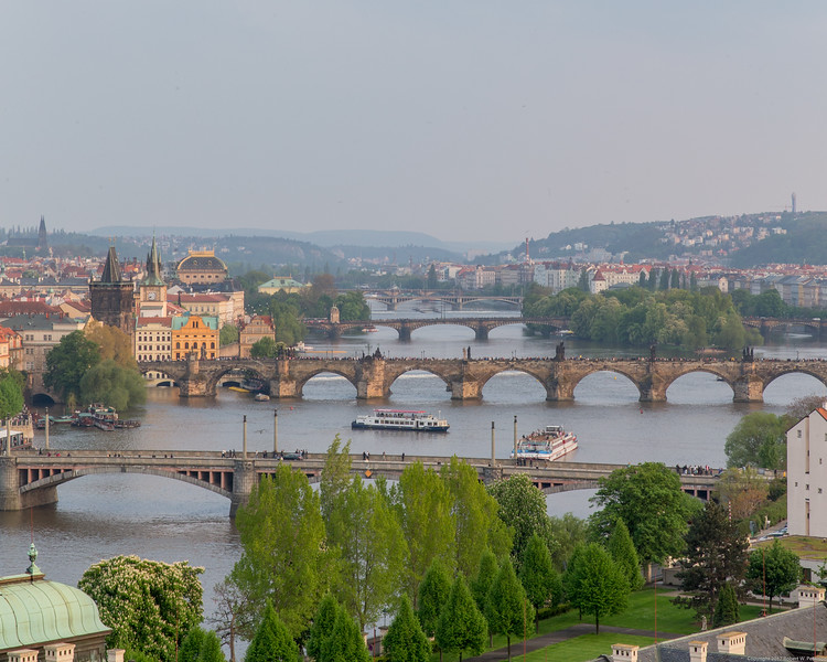 Bridges Over the Vltava River