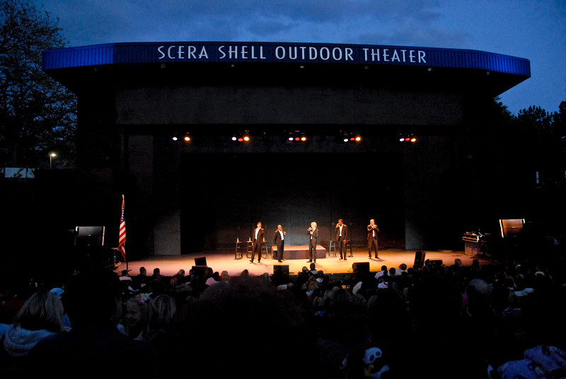 2011/5/30b – For Memorial Day we went to the Scera Shell to see Rockapella in concert. Marie and Wes Raymond had extra tickets and invited us to go with them. It was really fun. We saw them the very first time they came to Scera 15 years ago when the kids were just little and the group was primarily know for performing the theme song for Where In The World Is Carmen San Diego. It was a great night. Thanks Raymonds.