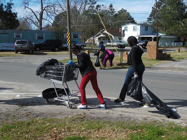 Street Cleanup/Basketball Photos 3-12