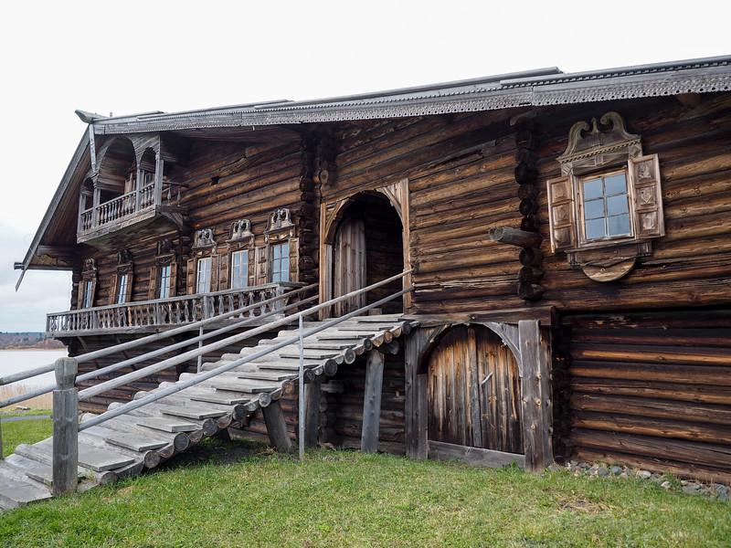 Traditional house on Kizhi Island