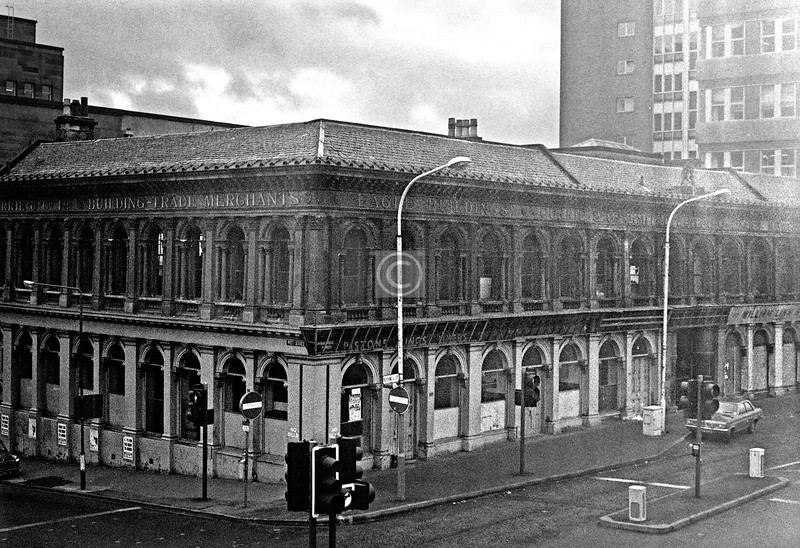 Some more of the Eagle Building in Bothwell St. July 1975