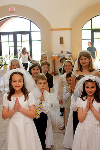 IHM First Communion 2014