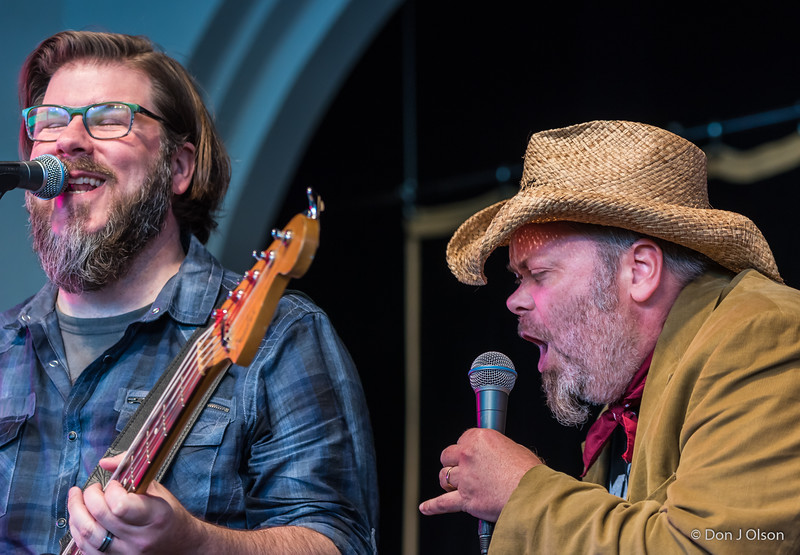 Chad Whittaker and Adam Moe, The Last Waltz Annual Summer Show at Como Pavilion