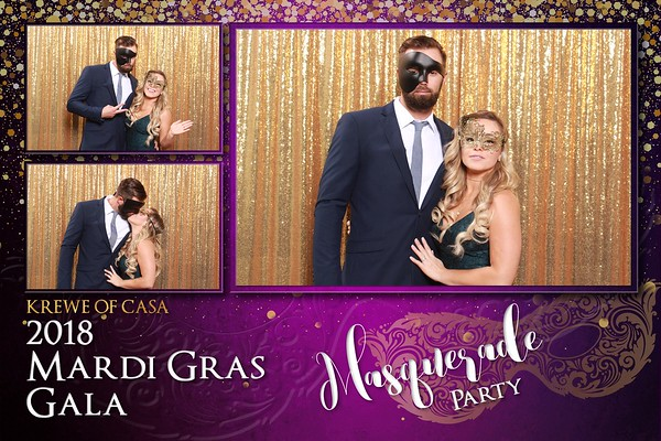 2018 Krewe of CASA Mardi Gras Gala