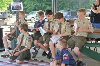 Scout Graduation Picnic 6-7-09
