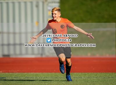 11/6/2019 - Boys Varsity Soccer - D2 North 1st Round - Charlestown vs Beverly