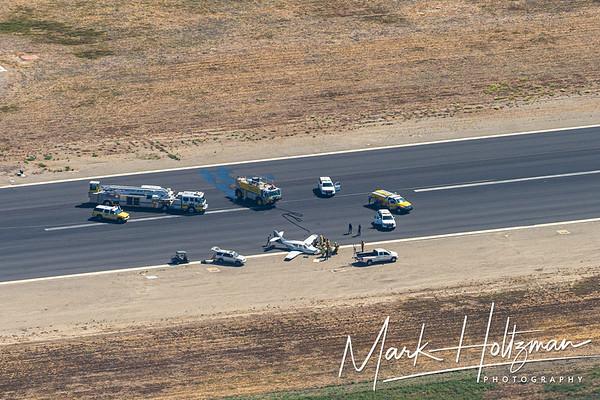 Camarillo Airplane Crash Landing
