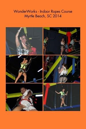 SC, Myrtle Beach - Wonder Works - Indoorr Ropes Course