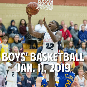 Prairie Boys Basketball 1-11-2019