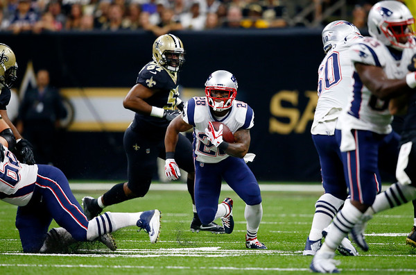 Patriots 36, Saints 20