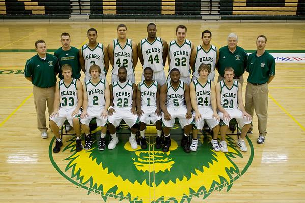 Men's Basketball, Varsity Team '08-'09
