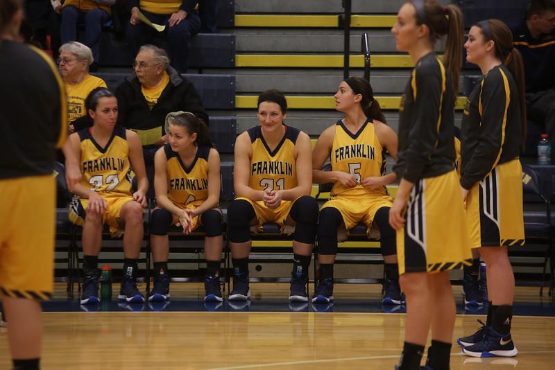 Franklin Women's Basketball vs Anderson