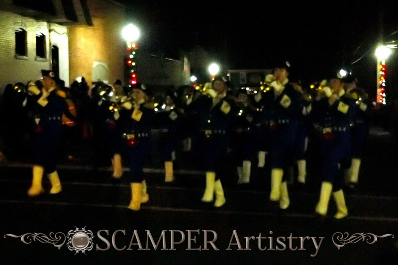 Anthony Wayne Marching Generals 2012-2013 Lake Orion, Michigan, Lighted Christmas Parade