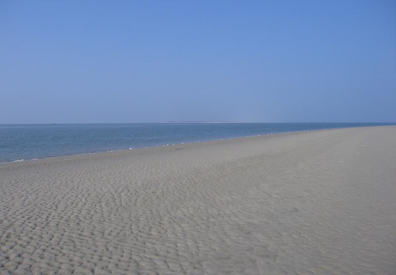 Uitzicht op Langeoog