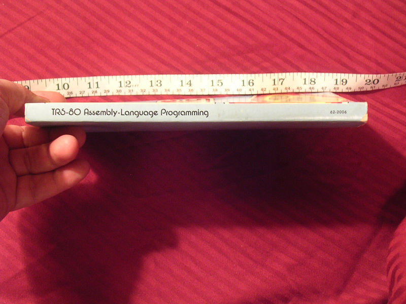 62-2006 TRS-80 Assembly Language Programming pic2.JPG