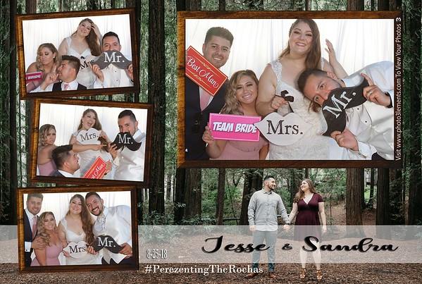 Sandra and Jesse's Wedding 8-25-18